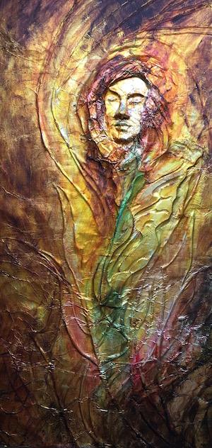 The Shunamite Woman, Foil Sculpture, Sara Joseph