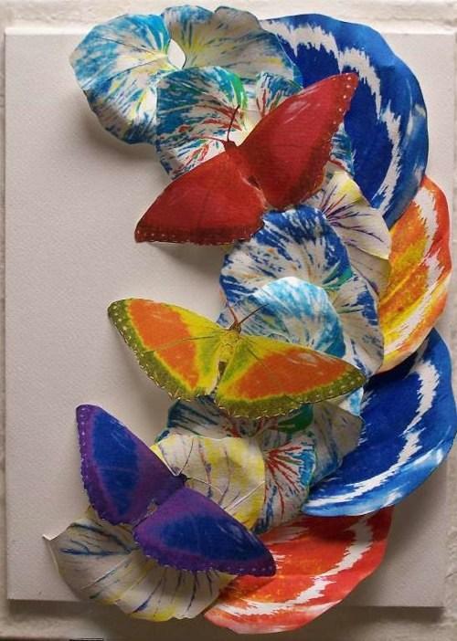 Tropical Fantasy, Paper Scupture, Elva Robinson