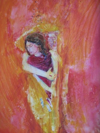 Unfailing Love, watercolor, Sara Joseph