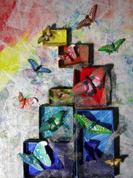 Grace Releases, Paper Sculpture, Elva Robinson