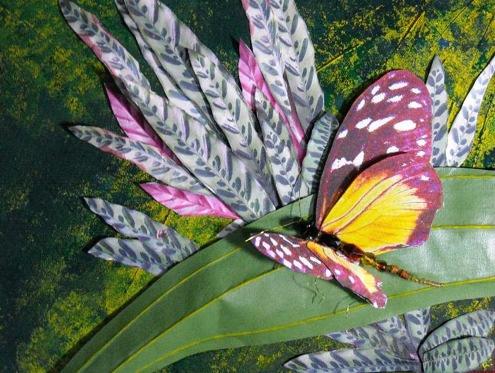 Rainforest Fantasia, Paper Sculpture, Elva Robinson