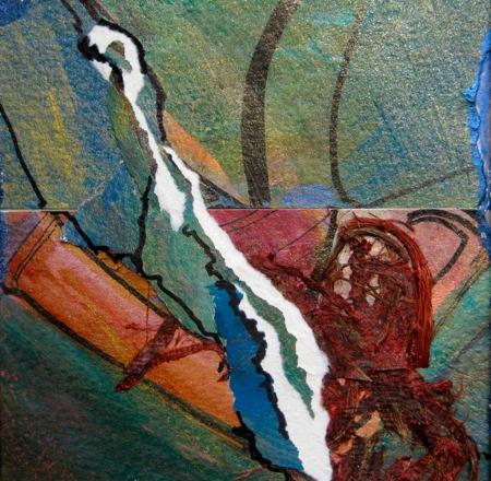 The Fresh Source, Christian Miniature art by Sara Joseph