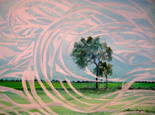 Winds of Change, Acrylicon canvas, Sara Joseph