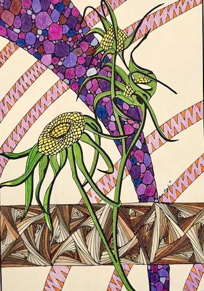 Nina Joseph's Coloring Page from the Power of the Seed