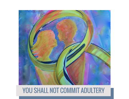 The Seventh Commandment, Watercolor, Sara Joseph