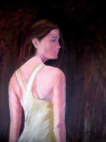 Hearken, Oil on Canvas, Sara Joseph