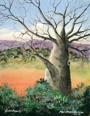 Boab Beauty Painting by Rex Woodmore