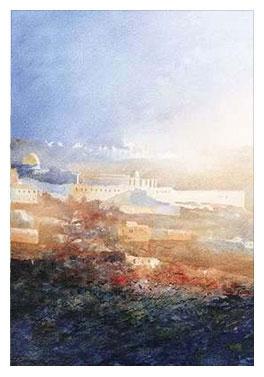 Jerusalem Early Morning Mists