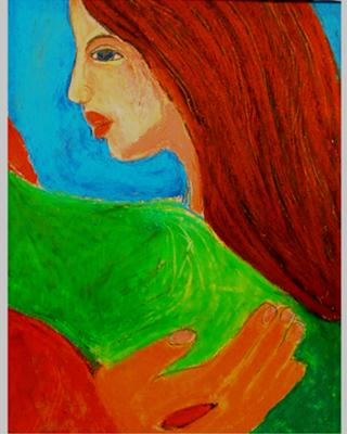 The Savior's Hand--Mercy's Touch (Pastel)<br><b>Mary Zore</b>