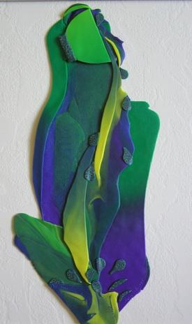 My Cup Runneth Over, Polymer Clay Sculpture, Sara Joseph