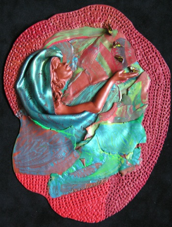 Freedom, polymer clay, Sara Joseph