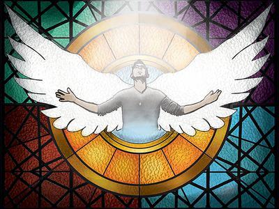 On Wings Like Eagles, Isaiah 40:31, Adam Uhig