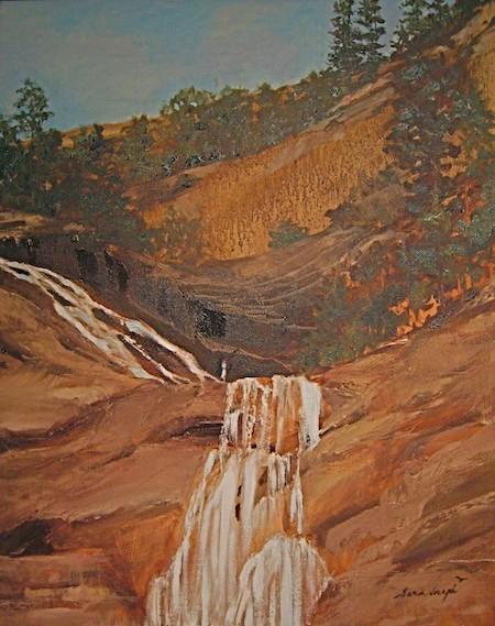 Seeking the Source, Oil on Canvas, Sara Joseph