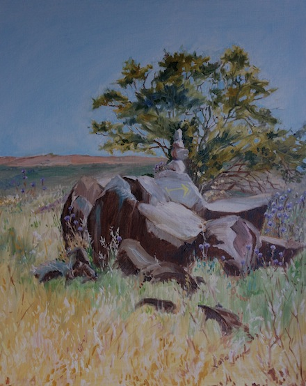 The Way, Oil on Canvas, Sara Joseph