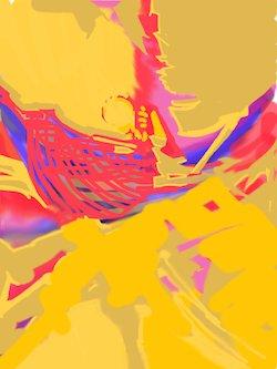 Now Faith Is.., iPad Painting, Sara Joseph