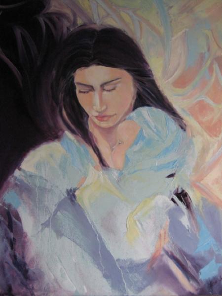 Immanuel, Oil on Canvas