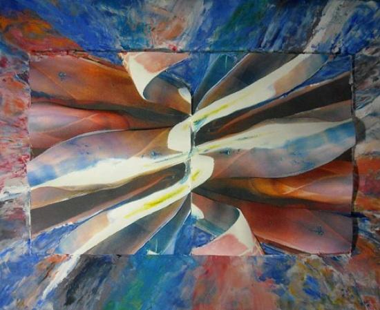 Agave Loco, Paper Sculpture, Elva Robinson