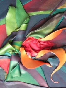The Awakening, Polymer Clay Relief Sculpture, Sara Joseph