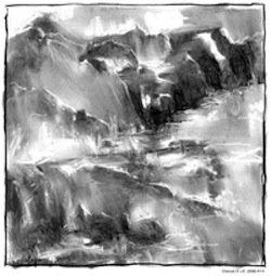 High Place Series, Charcoal, Tom Graffagnino