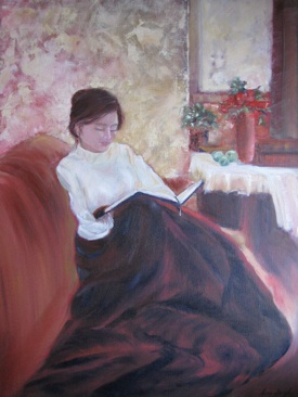 Sweet Hour of Prayer, Oil, Sara Joseph