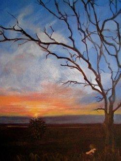 Dawn, Oil on Canvas, Sara Joseph