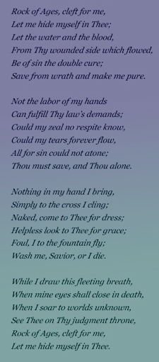 Rock of Ages Hymn