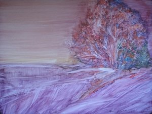 Seek, Watercolor on Yupo,Sara Joseph